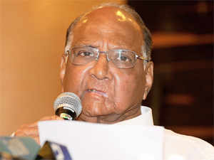'As you may be aware, I have opted for Rajya Sabha seat this time as I was not keen to contest in the next General Election,' says Pawar.