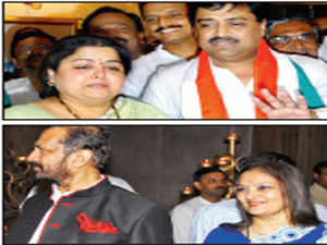 Former Maharashtra Chief Minister Ashok Chavan, and Suresh Kalmadi, have been desperately trying to get tickets for their wives for the Lok Sabha polls.
