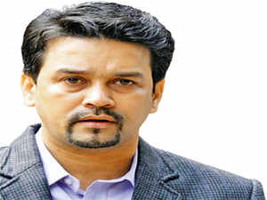 Anurag Thakur, who made his Ranji debut in 2000-01, played a lacklustre innings, getting out for a duck after spending seven minutes at the crease.