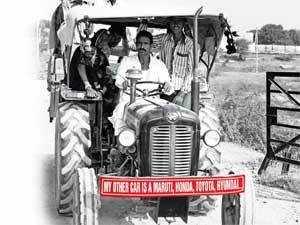 The rural will be the liberator of the Indian car industry, which has suffered consecutive years of decline in auto sales growth, has been established.