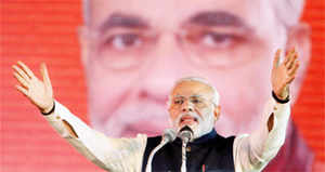 """Modi's  candidature from home state Gujarat and a """"high-profile"""" UP seat would  serve the purpose of both the assurance of home ground advantage."""
