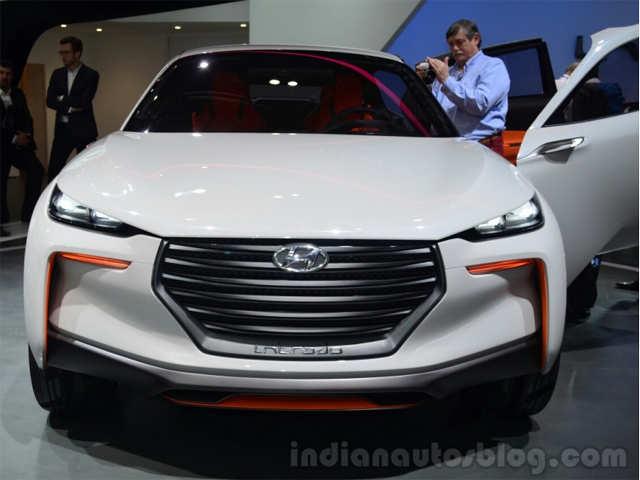 Hydrogen fuel cells - Hyundai Intrado mini SUV concept   The