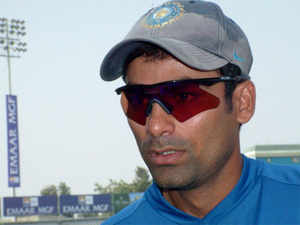 """""""I would love to serve and represent my own people in Phulpur the way I represented my country on international forums,"""" said the cricketer."""