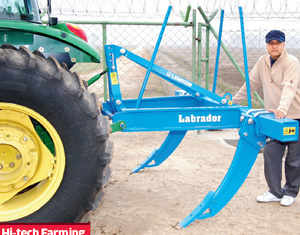 He may use a basic Rs 3k Nokia mobile phone but the Air Force School and Hansraj College alumnus is much more demanding when it comes to his farm machinery.