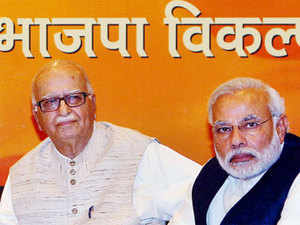 """Advani's name should've featured in the first list. A person who was part of BJP's golden era was kept hanging till last minute,"" Shiv Sena slammed."