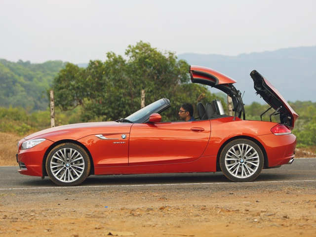 Folding Roof 2014 Bmw Z4 What S The Open Top Two Seater
