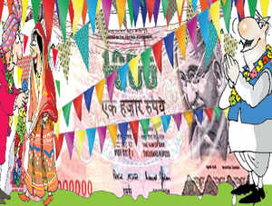 The Election Commission is keeping a keen eye on weddings and birthday parties in interior Orissa. That's because campaign managers are always looking out for creative ways of getting round the limit on poll spending.