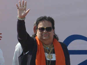 Bappi Lahiri is making his electoral debut as a BJP candidate from the Sreerampore constituency in Hooghly district in the 2014 Lok Sabha elections.