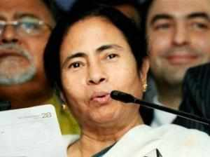 Mamata Banerjee is keeping all options open to rejoin either a BJP or a Congress-led alliance after the Lok Sabha elections, senior CPI(M) leader Surjya Kanta Mishra said here today.