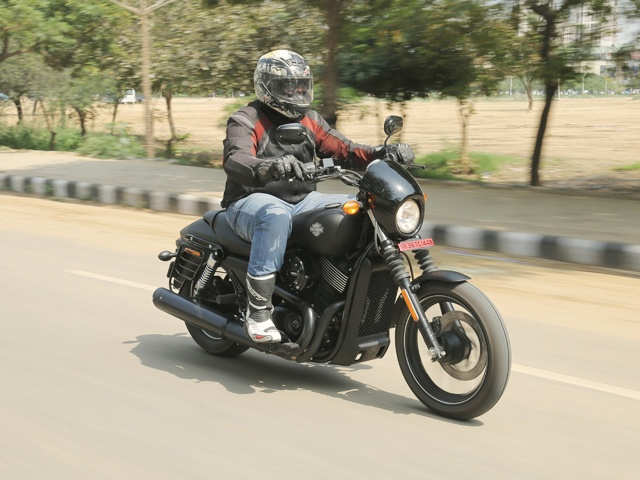 Speedometer - Harley-Davidson Street 750 Review | The Economic Times