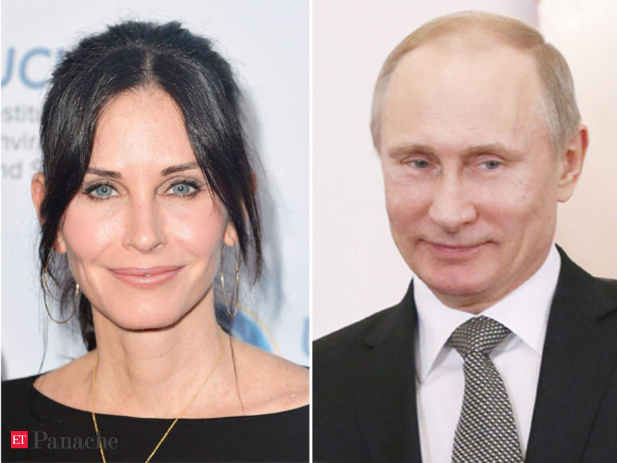 Age No Bar Courteney Cox Vladimir Putin Are Chasing Young Love The Economic Times