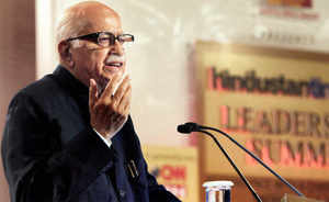 """Steering clear of controversy, Advani claimed that """"BJP will come to power with over 300 seats that will change the face of this country""""."""