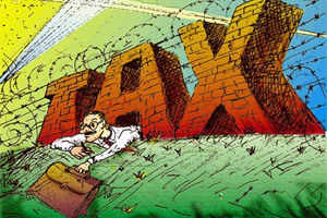 The Finance Ministry is not in favour of giving tax benefits to businesses for their social welfare spendings in backward regions contrary to the recommendation made by a parliamentary panel.