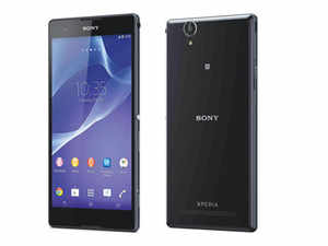 The T2 shares many design features from the high-end Xperia line: it has a slim (only 7.65mm throughout) and lightweight (for its size) design, a Sony Triluminos display and flaps covering the SIM and micro SD slots (though it's not waterproof).