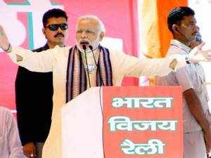 The 'Modi wave' across Maharashtra will increase BJP's votes by 12 to 14% and help the alliance to secure 35-36 seats in the Lok Sabha elections said Vinod Tawde.