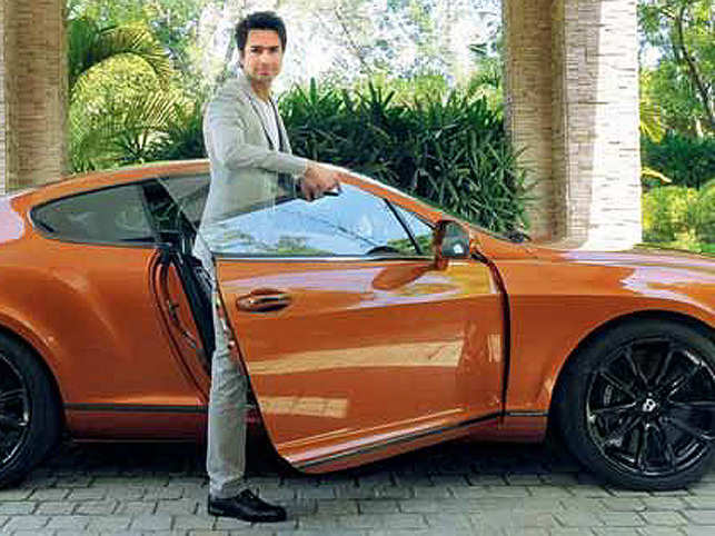 A guided tour of Micromax co-founder Rahul Sharma's uber