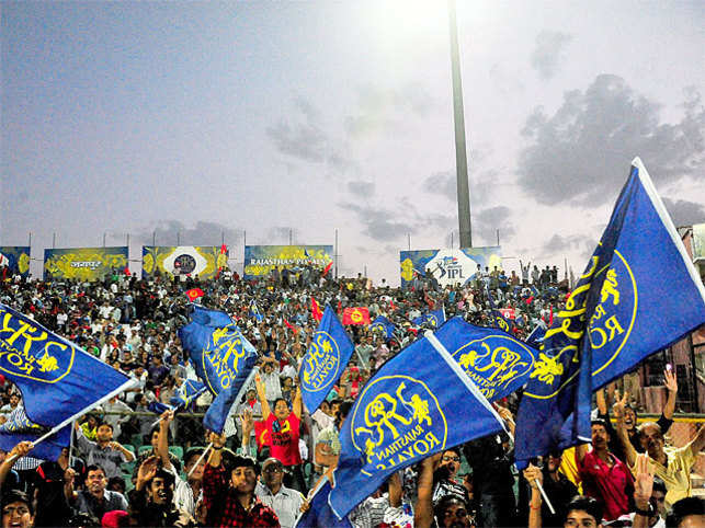 The royal families of Rajasthan are seeing red. The reason: BCCI's recent decision to shift four home matches of the Rajasthan Royals in the IPL to Ahmedabad.