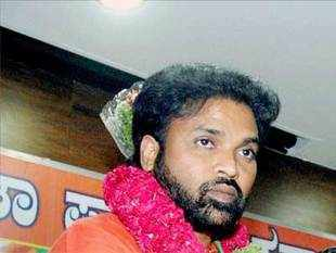 A case of cheating involving Rs 2.96 crore has been registered against BJP Bellary candidate B Sriramulu on a complaint by a functionary of his previous party BSR Congress who claimed he was promised a ticket by him to contest the Lok Sabha polls.