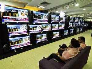 Television manufacturers such as Sony, Panasonic and Videocon are bringing down the prices of their entry-level LCD and LED TV sets to target first-time buyers and those who want to upgrade from CRT models.