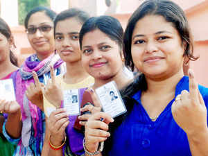The highest turnout of 78.89 per cent was in the four constituencies in West Bengal, which has a total of 39 seats, while the lowest was recorded inMadhyaPradesh at 54 per cent.