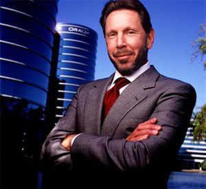 Oracle Corp founder Larry Ellison.