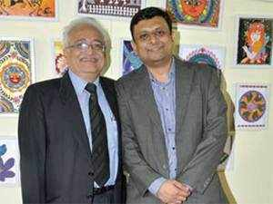 Shyam Makhija (left) and Anuj Mehta