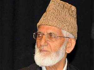 Hawkish separatist Syed Ali Geelani's statement that NaMo sent his emissaries to discuss the Kashmir issue has triggered a row within Kashmir's freedom seeker