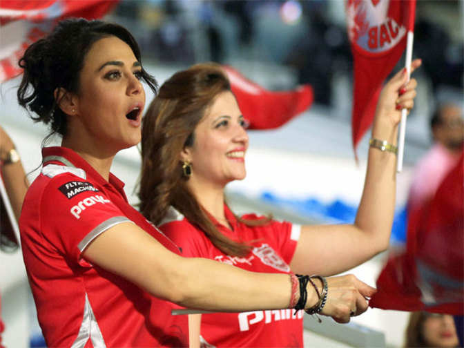 April 22, 2014 - Preity Zinta During An Ipl 7 Match -4937