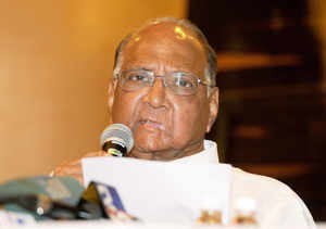 Sharad Pawar has said that while the BJP stood poised to emerge as the single largest party, its president Rajnath Singh and not the official face Narendra Modi could don the prime ministerial crown because of acceptability issues.