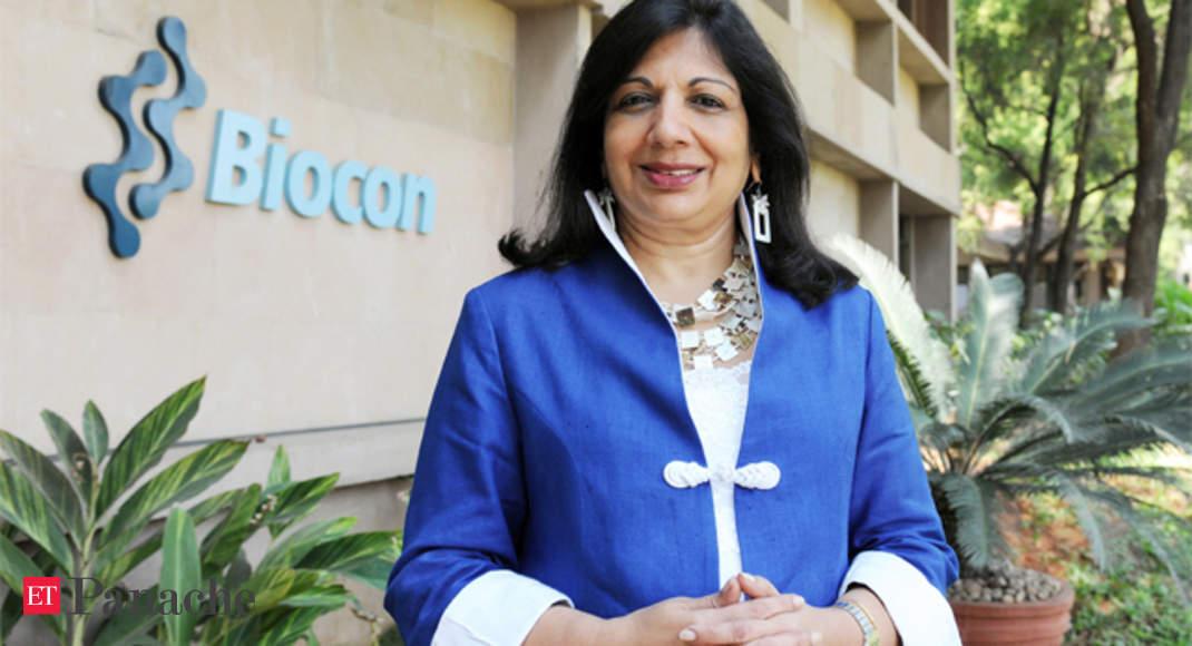 How Biocon's Kiran Mazumdar-Shaw battled cancer plaguing her husband & best  friend - The Economic Times