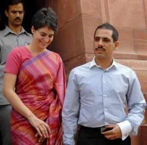 Since last year, after facing allegations of wrong-doing in his land deals, Vadra has turned into something of a political liability for the party.