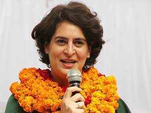 """Some opposition leaders come here and spread misinformation. They are not in touch with ground reality,"" Priyanka Gandhi said ."