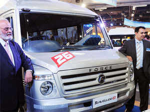 Force Motors manufactures a range of small commercial vehicles, light commercial vehicles, multi-utility vehicles, sports utility vehicles and tractors.