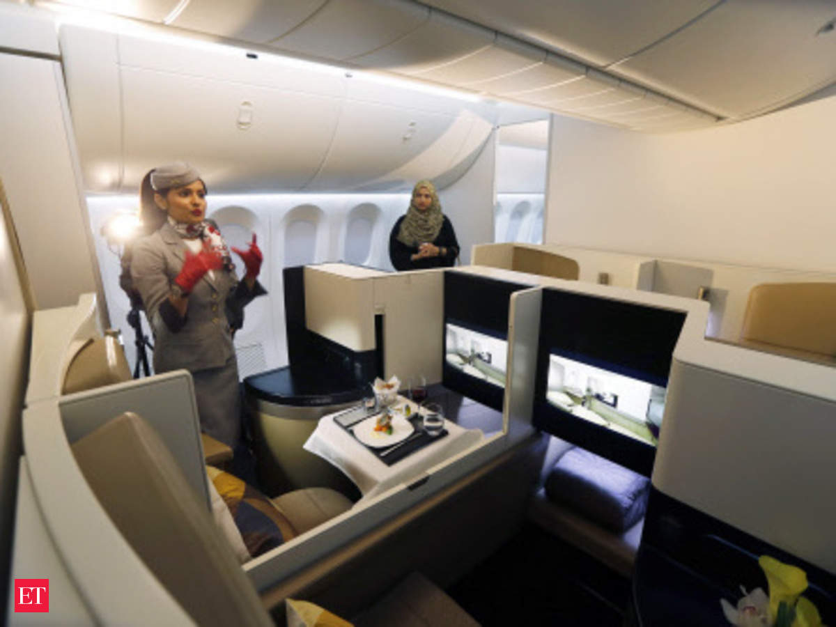 Etihad Airways To Offer Bed And Bath Suites On Planes The Economic Times