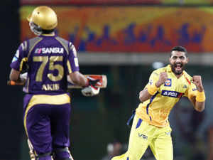 The two players who made it to the Indian team on the strength of their IPL performances are Yusuf Pathan and Ravindra Jadeja.
