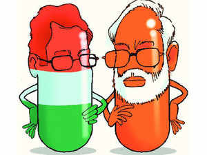 If it's a Modi sarkar and a Nehru Gandhi Opposition, the battle of contrasting brands will be continuous & fascinating