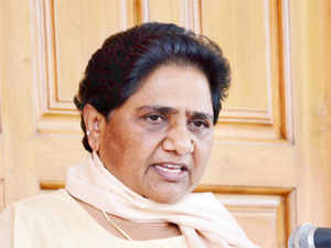 BSP supremo Mayawati has ruled out any post-poll tie-up with a BJP-led government.