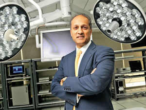 Kevin Lobo grew up in Montreal, heads a $9-billion US company — and is now eyeing India, the country of his birth as a market.