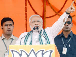 Modi revealed the figures himself in his blog posting on Saturday after campaigning for the nine phase Lok Sabha elections drew to a close.