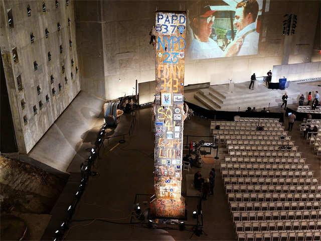 President Bush S Bullhorn September 11 Memorial Museum To Open In