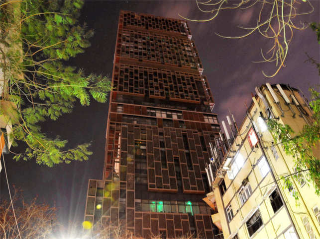 Ambani's27-storey, 4,00,000-square-foot skyscraper homeAntilia— named after a mythical island in the Atlantic — tops the Forbes list.