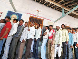 The repoll at five polling stations of Vaishali Lok Sabha constituency got over smoothly today with around 52 per cent voters exercising their franchise.