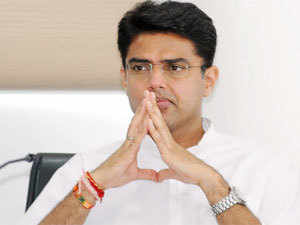 Rajasthan PCC President Sachin Pilot was today defeated in Ajmer Lok Sabha seat by the BJP candidate and sitting MLA Sanwarlal Jat.