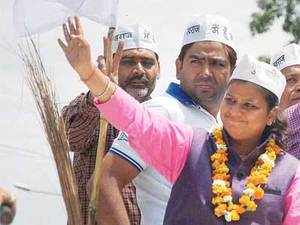 BJPcandidate from North West Delhi constituencyUditRaj today defeated his nearest rivalRakhiBirlaofAamAadmiParty by a margin of 1.06lakhvotes.