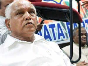 The mood in Yeddyurappa's hometown, Shikaripur, was one of jubilation. Elsewhere in Shimoga district, people received it with the usual poise as though they had expected the victory.