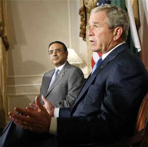 Zardari hits out at US action