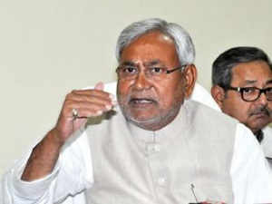 """Within hours of JD(U) MLAs reposing faith in Nitish's leadership, a Bihar BJP delegation met governor saying an """"atmosphere of political instability"""" prevails in the JD(U) legislature party and that a fresh test of strength on the floor of the House is the only way out."""