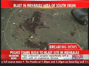 Another bomb explosion in Delhi; two dead