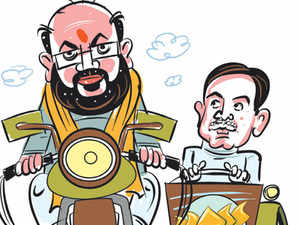 With speculation rife that Shah will be made in-charge ofHaryanaassembly election, the high command is contemplating theShah-Abhimanyucombination again.
