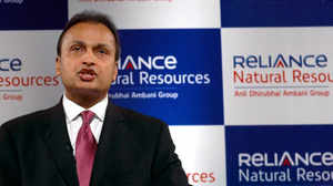 Anil Ambani addresses Annual General Meeting of Reliance Natural Resources in Mumbai. PTI